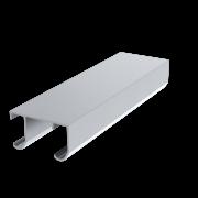 Skinne, aluminium, til 40 serien